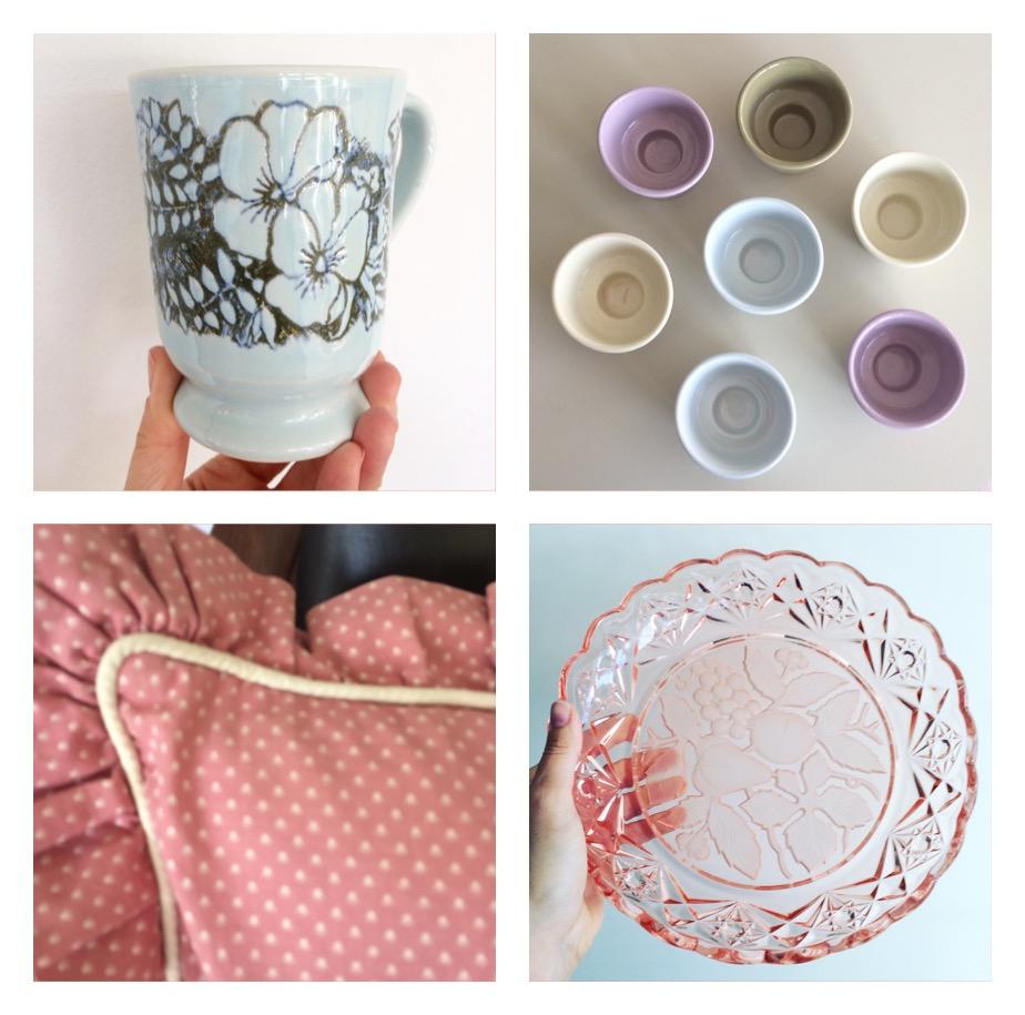Genbrugsguld, loppefund, retro, keramik, porcelæn