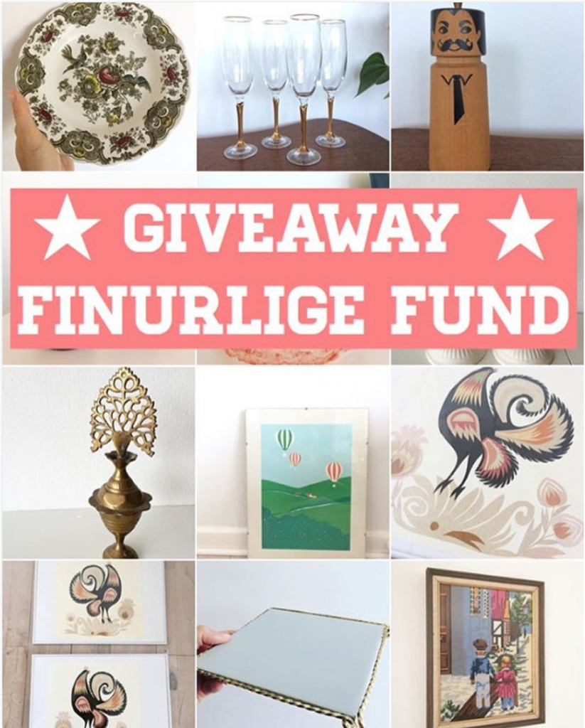 Giveaway instagram finurlige_fund
