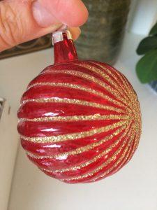 Julekugle juletræspynt finurligefund