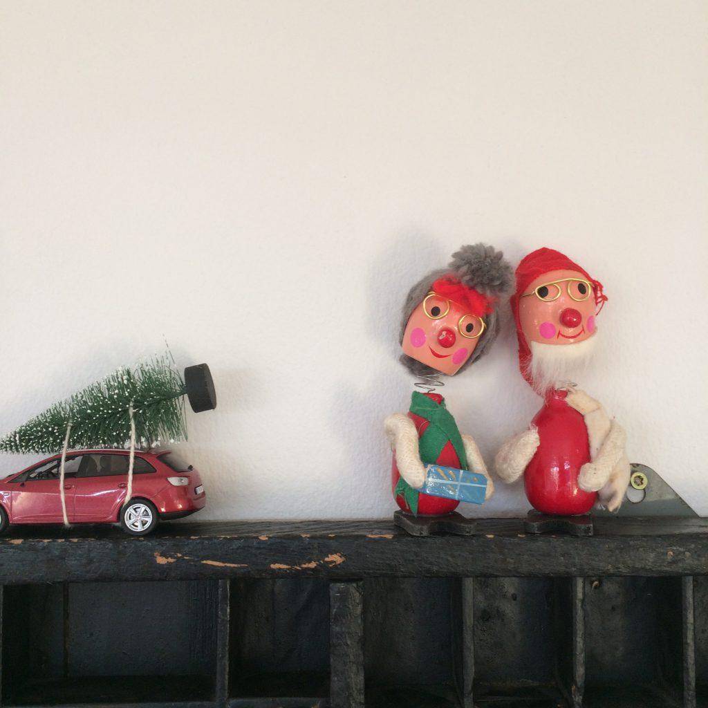 Nisser julepynt retrojul nikkedukker finurligefund