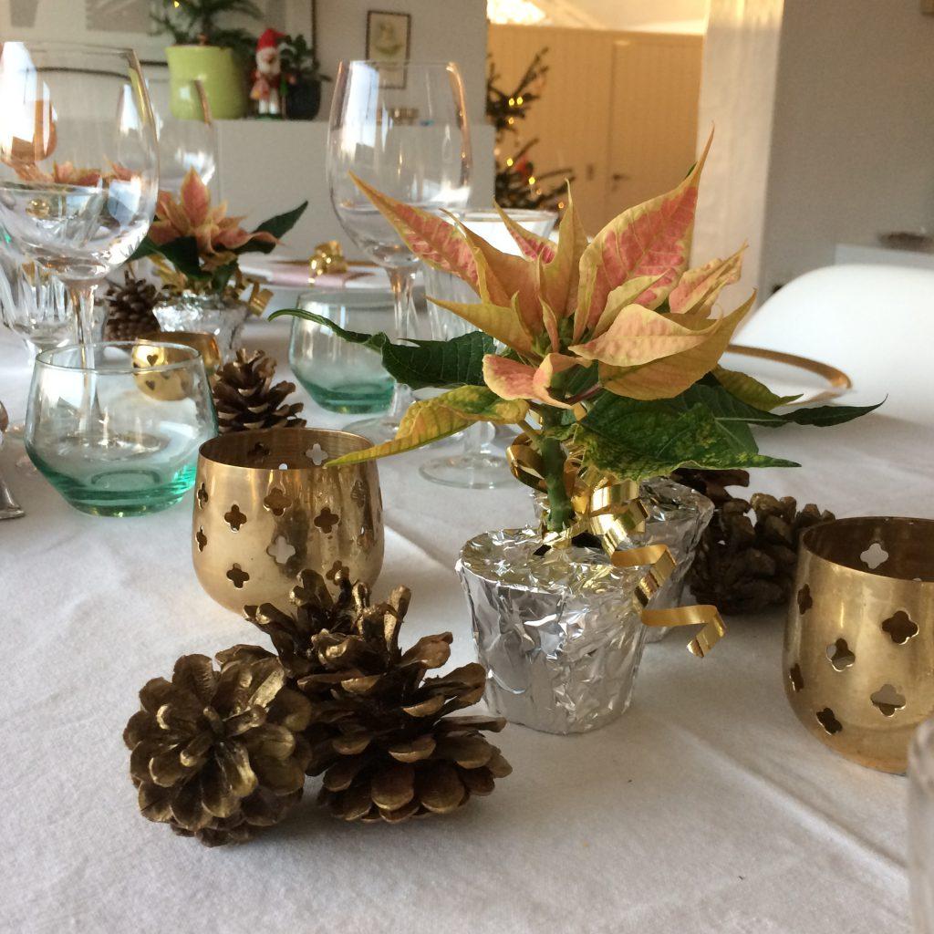 Julebord borddækning jul finurligefund