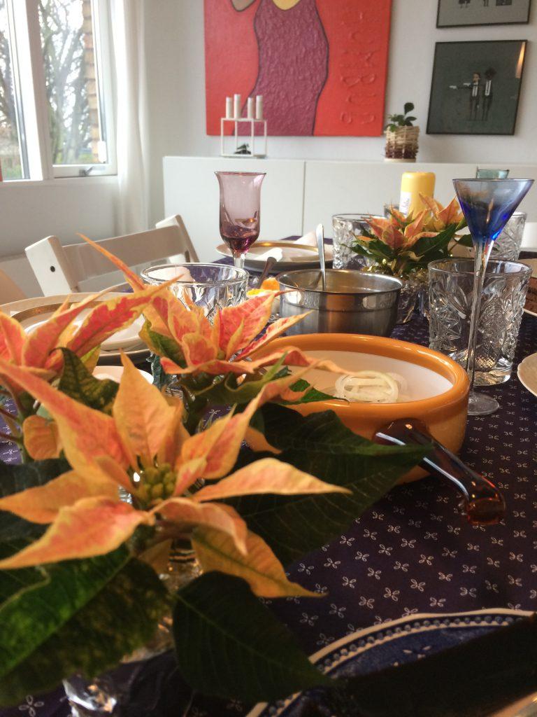 Julefrokost borddækning julebord finurligefund