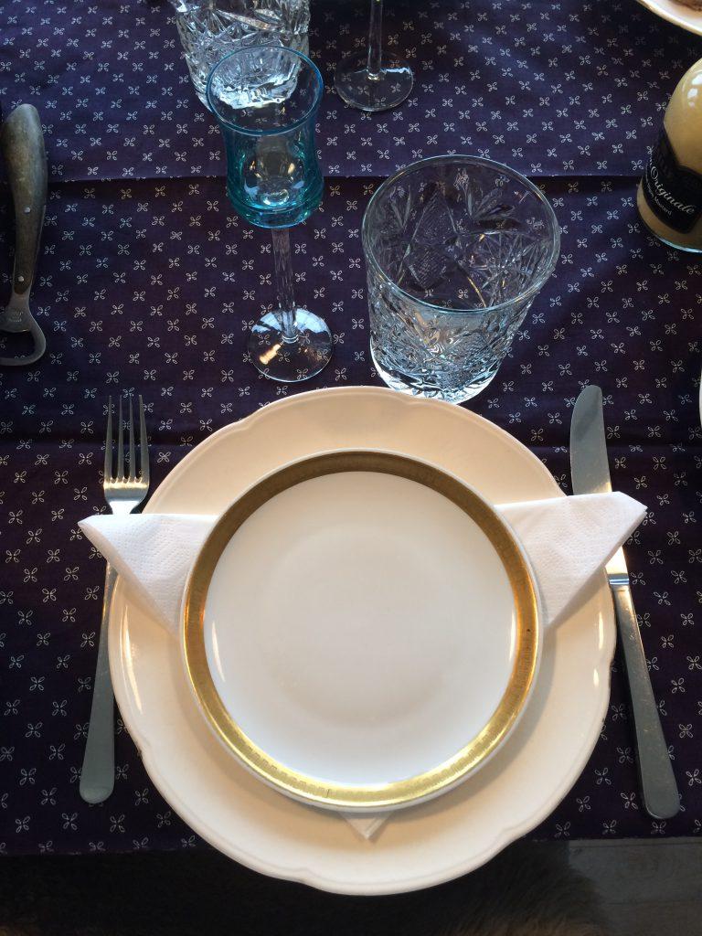 Julefrokost borddækning finurligefund