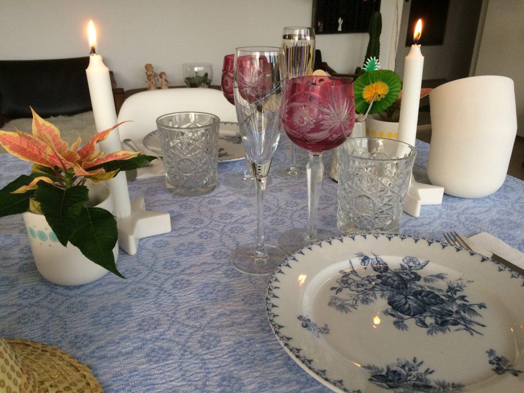 Nytårsbord borddækning nytår finurligefund