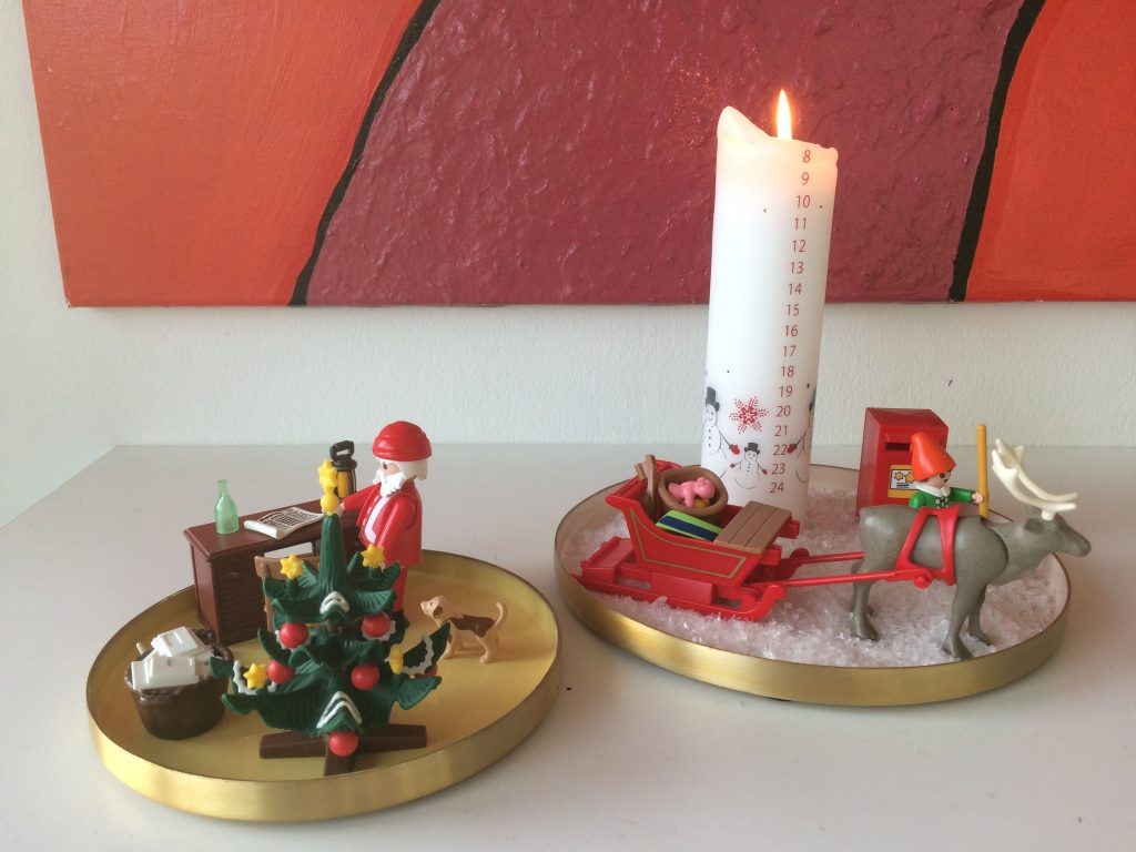 kalenderlys juledekoration playmobil finurlige fund december julehygge