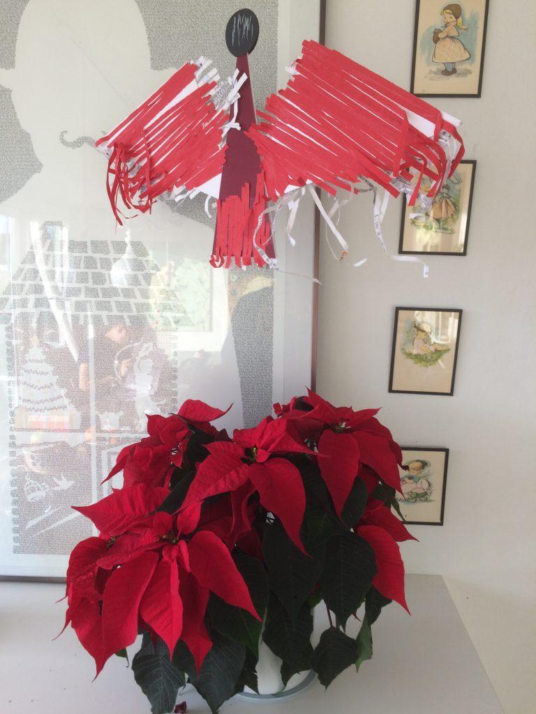 julestjerne julepynt december finurligefund