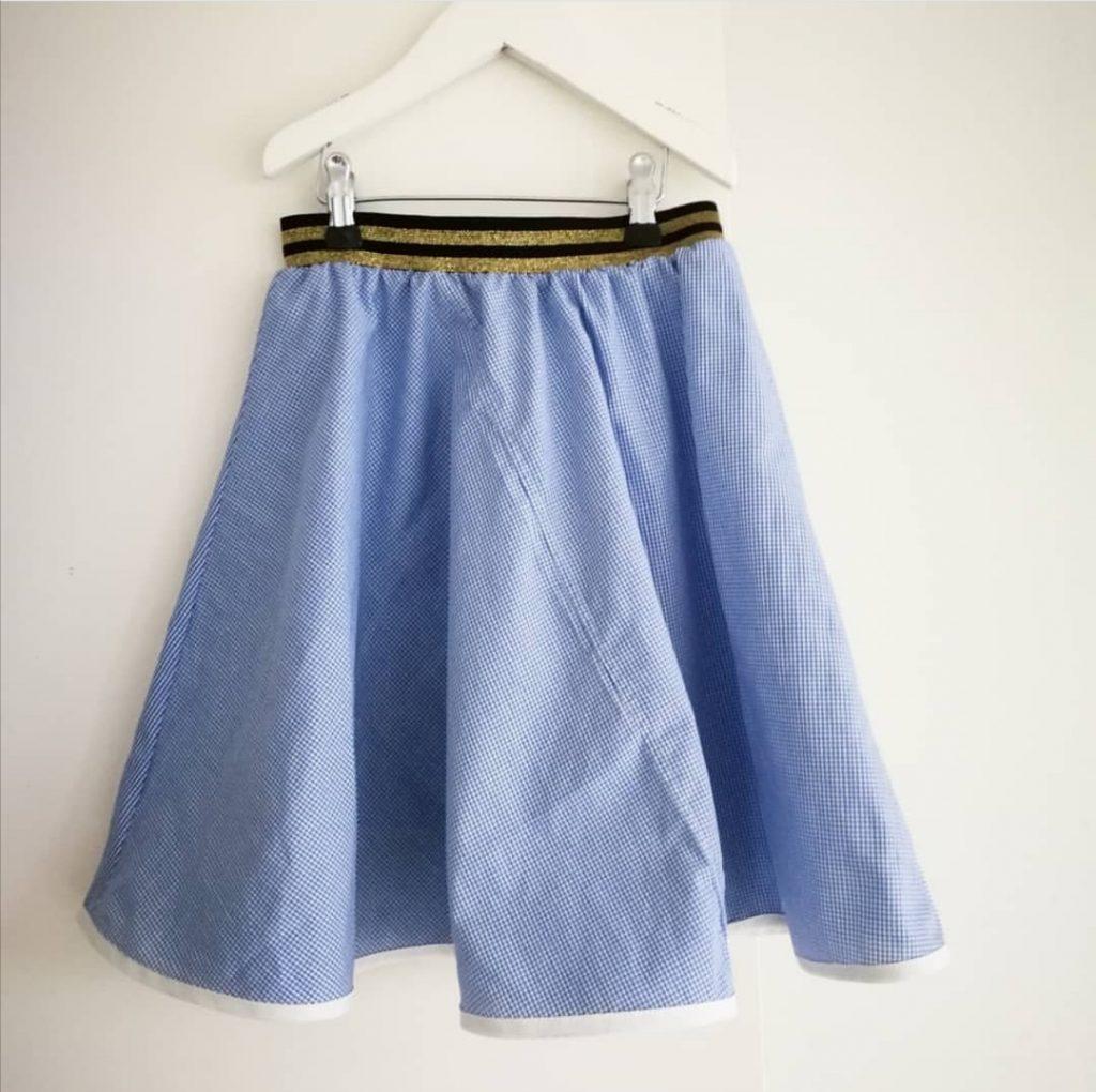 tekstilgenbrug finurlige fund nederdel børnetøj