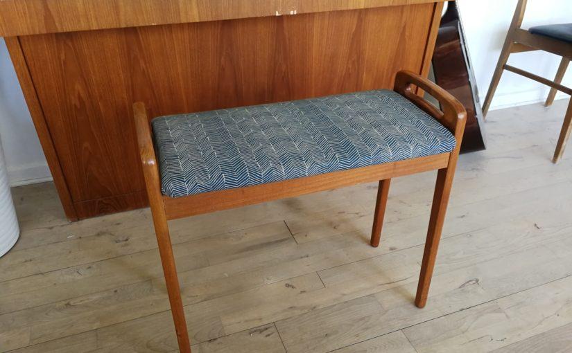 Nyt betræk på gamle møbler